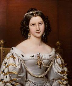 Image: Joseph Karl Stieler - Charlotte of Owen, geb.von groves Schönheitengalerie king