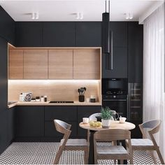 U-shaped Kitchen İdeas; The Most Efficient Design Examples Of Your Dream Kitchen 2019 - Page 29 of 29 - eeasyknitting. com - - U-shaped Kitchen İdeas; The Most Efficient Design Examples Of Your Dream Kitchen 2019 - Page 29 of 29 - eeasyknitting. Kitchen Room Design, Kitchen Sets, Home Decor Kitchen, Interior Design Kitchen, Kitchen Furniture, New Kitchen, Kitchen Modern, Modern Kitchen Designs, Modern Kitchen Lighting