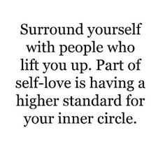 #peacelovevibes #repost Surround yourself with people who are making themselves better, stronger, happier, healthier... people with less ego, big heart, pure soul. People that don't go around blaming others for their faults, that tell the truth and listen to the truth even when it's difficult to hear. People who love and respect you, because they love and respect themselves. #whofeelsitknowsit #selfrespect #selflove #higherstandards #innercircle