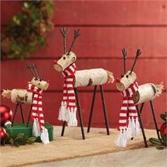 Mud Pie | Birch Wood Reindeer