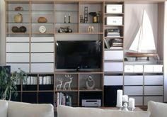 Ideoita omiin ratkaisuihin - Inaria. INARIA kirjahylly Shelving, Home Decor, Shelves, Decoration Home, Room Decor, Shelving Units, Home Interior Design, Shelf, Home Decoration