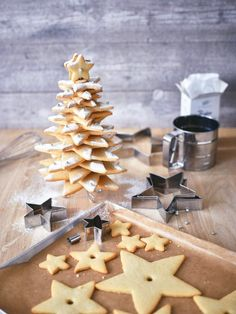 Weihnachtsplätzchen mal anders – der Plätzchenbaum