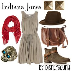 Indiana Jones inspired outfit