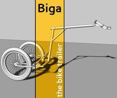 Biga, the Bike Trailer : 15 Steps (with Pictures) - Instructables Trailer Diy, Trailer Hitch, Arc Welding Machine, Bike Cart, Bike Food, Shielded Metal Arc Welding, Sheet Metal Fabrication, Mountain Bike Frames, Bicycle Women