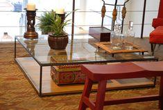 Mesas de centro modernas rj. Mesa centro moderna - Velha Bahia