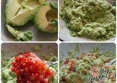 Guacamole dip (avokádová pomazánka)   NejRecept.cz Guacamole Dip, Pesto, Mexican, Treats, Snacks, Ethnic Recipes, Fitness, Food, Sweet Like Candy