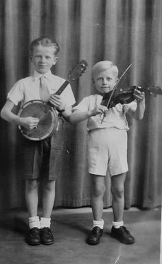 Banjo and Fiddle