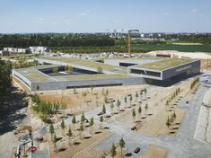 An eco-school complex is designed for a new sustainable development in North-Eastern France - News - Frameweb