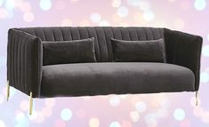 Healing Crystals, Chakra Healing, Velvet Tufted Sofa, Cool Couches, Emotional Healing, Rocks And Gems, Cool Wallpaper, Living Room Furniture, Astrology