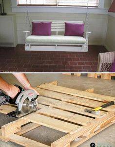 decorating with pallets | Pallet Projects! 15 More Reclaimed Furniture & Decor Ideas ~ Planet ...