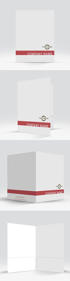 Free Psd Presentation Folder Templates Brochure Design