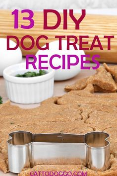 DIY DOG TREAT RECIPES THAT ARE HEALTHY AND DELICIOUS
