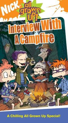 All Grown Up: Interview With a Campfire Rugrats All Grown Up, Best Ghost Stories, Kid Movies, Children Movies, Nickelodeon Cartoons, Disney Animated Movies, Halloween Cartoons, Cartoon Tv Shows, Favorite Cartoon Character