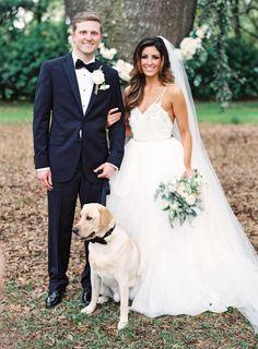 So beautiful: http://www.stylemepretty.com/2015/07/13/rustic-elegant-jacksonville-wedding/ | Photography: Lauren Peele - http://www.laurenpeelephotography.com/