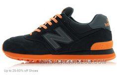 http://www.nikejordanclub.com/new-balance-men-574-black-orange-casual-shoes-authentic.html NEW BALANCE MEN 574 BLACK ORANGE CASUAL SHOES AUTHENTIC Only $85.00 , Free Shipping!