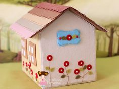 Ei Menina!: Uma casinha para contar histórias... ♡