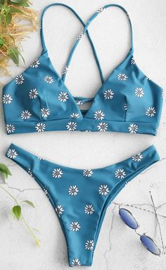 Printing Floral Sexy Bikini Push Up Swimsuit Druck Blumen Sexy Bikini Push Up Badeanzug – GaGodeal ame] Sexy Bikini, Bandeau Bikini Set, Push Up Swimsuit, The Bikini, Bikini Swimwear, Bikini Girls, Summer Bathing Suits, Cute Bathing Suits, Summer Suits