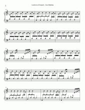 Una Mattina Theme Full Version | Easy Piano Sheet Music