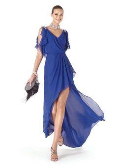 Modelli abiti da cerimonia blu (Foto 34/40)   Donna