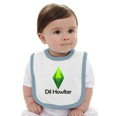 Dil Howlter Sims Baby Bib