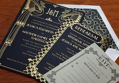 Art Deco Wedding Ideas | Details + Decor, Favors + Gifts, Flowers + Greenery, Pretty Paper, Wedding Wardrobe | 100 Layer Cake