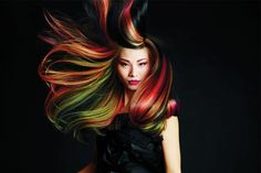 Origami Color by Lucie Doughty for Paul Mitchell