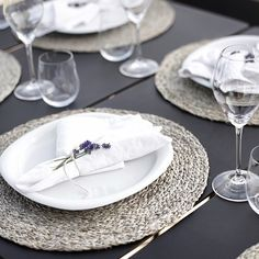 textured placemats, so soft and natural