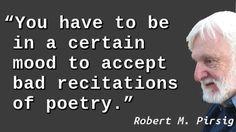 Robert Pirsig - Poetry