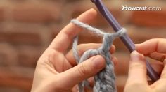 I forget fundamentals if I don't crochet often. How to Turn at the End of a Stitch Row | Crocheting
