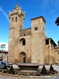 Ejea delos Caballeros  Cinco Villas  Aragón  Spain Travel Around The World, Around The Worlds, Carolingian, Basque Country, Balearic Islands, Spain And Portugal, Romanesque, Amazing Architecture, Valencia