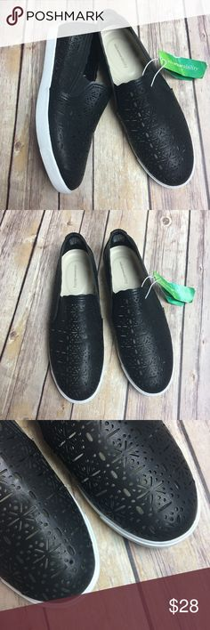 Solesenseability Black Slip-On Loafers Great for spring or summer• Very comfortable slip on shoes• Weaved cut out design• Padded insole• Easy to put on and take off• Manmade material• Elastic gore insets at sides• 🚫No Trade/PP🚫 Solesenseability Shoes Flats & Loafers