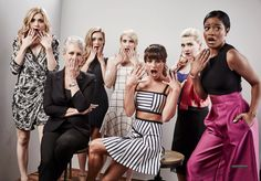 The Scream Queens cast at Comic-Con