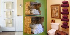 In today's article we present you a dozen of creatively ideas that will help you solve all of your problems in your bathroom and keep it away from clutter.
