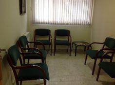 Esta es la sala de espera donde los padres y los niños pueden esperar a que llegue la persona esperada.