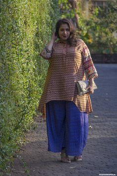 Plus Size Fashion Blogger In India