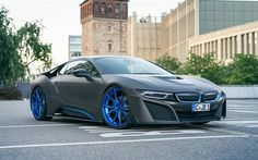 BMW i8, 2016 cars, supercars, GSC, tuning, BMW