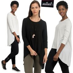 Exciting and chic new stock now at #Nicci stores & online nicci.co.za #NicciSS17 Ss 17, Chic, Blouse, Long Sleeve, Sleeves, Tops, Women, Fashion, Shabby Chic