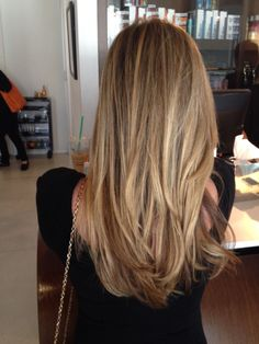 Natural honey blonde.