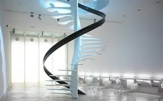 10 modelos de escaleras de vidrio muy atractivas : Decorando Mejor