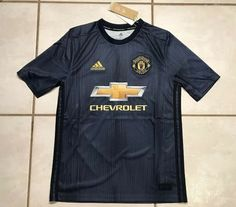 NWT ADIDAS Manchester United 2018 Third Jersey Youth XL MSRP $70  | eBay Manchester United, Soccer Shirts, Adidas, Third, Youth, Mens Tops, Ebay, Man United, Soccer T Shirts