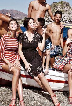 Monica Bellucci and Bianca Balti for Dolce & Gabbana ss2013