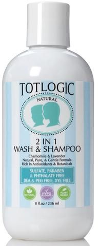 Natural Baby Shampoo and Body Wash For Children and Kids of All Ages