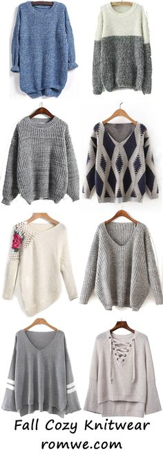 Fall is coming and you need a sweater to make you warm. Romwe can meet your needs!!!