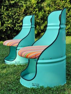 Furniture, both indoor and outdoor, has definitely become a great way to recycle oil barrels