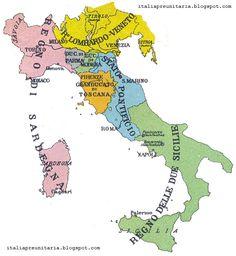 Cartina Dell Italia Nel 1815.33 Fantastiche Immagini Su La Restaurazione In Italia