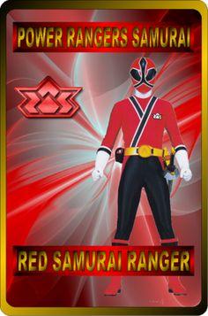 Red Samurai Ranger (Male) by rangeranime on @DeviantArt