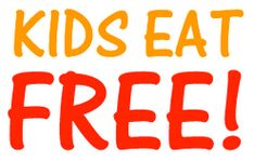 A list of places (and when) kids eat free.