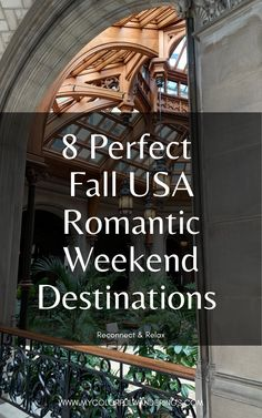 We got married in October so we're so excited to share this list! It's our chance to relax, reconnect, and pamper ourselves a little? The best fall USA honeymoon destinations have a few things: Pretty scenery, not crowded, and give you ample opportunity for relaxation. Think hot tubs, massages, mountains, or cozy fires to curl up by! #honeymoons #honeymoondestinations #fallwedding #fall #traveltheworld #travel #traveltips #traveldestinations #travelhacks #travelsmart