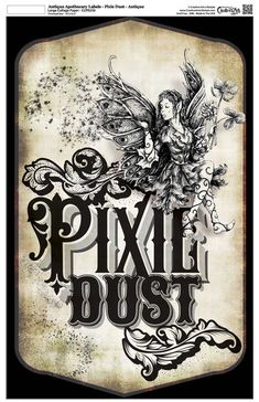 This is Antique Apothecary Label - Collage Paper - Pixie Dust - x by Studio and Creative Arts Lifestyle. Menu Halloween, Halloween Potions, Holidays Halloween, Vintage Halloween, Halloween Crafts, Halloween Festival, Halloween Ideas, Halloween Decorations, Halloween Apothecary Labels