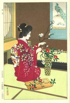 笠松紫浪木版画 Shiro Kasamatsu Shin hanga